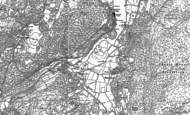 Old Map of Newby Bridge, 1911 - 1912