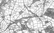 Old Map of Newchapel, 1904