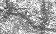 Old Map of Newchurch, 1891