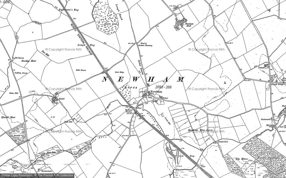 Newham, 1896 - 1897