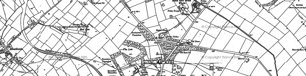 Old map of Aleck Low in 1879