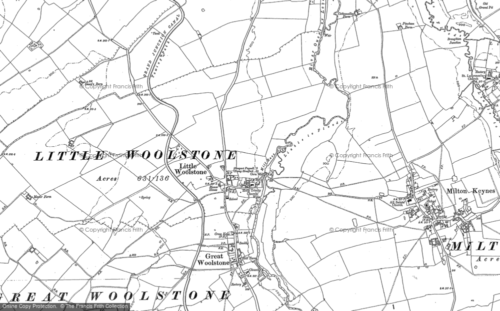 Old Map of Newlands, 1924 in 1924