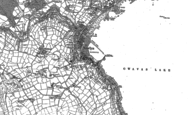 Old Map of Newlyn, 1906
