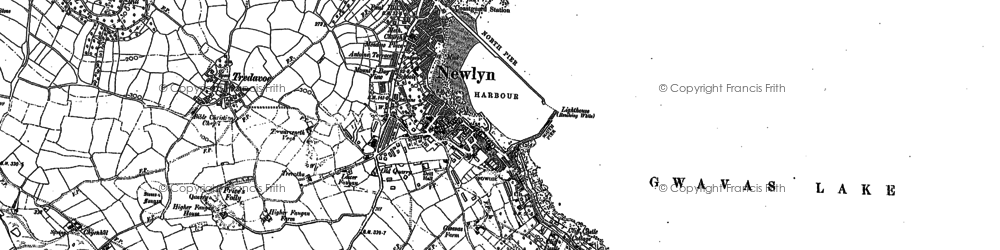 Old map of Wherry Town in 1906