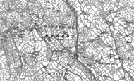 Old Map of Newmill, 1877 - 1906