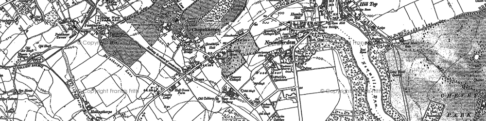 Old map of Kettlethorpe in 1890