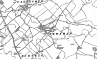 Old Map of Newnham, 1900