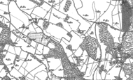 Old Map of Newnham Hill, 1897