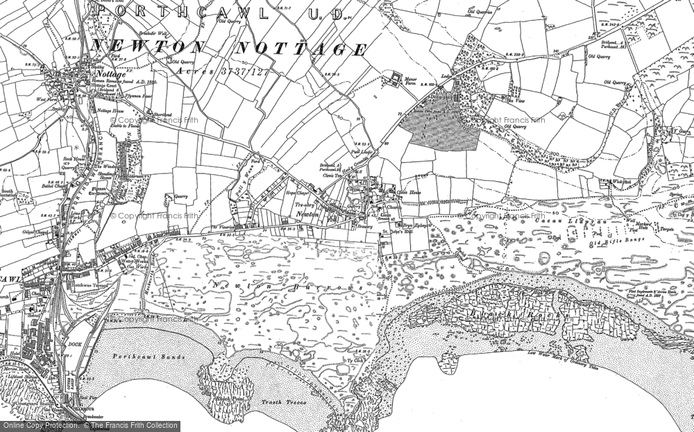 Old Map of Newton, 1897 - 1914 in 1897