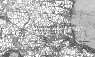 Old Map of Newton, 1913