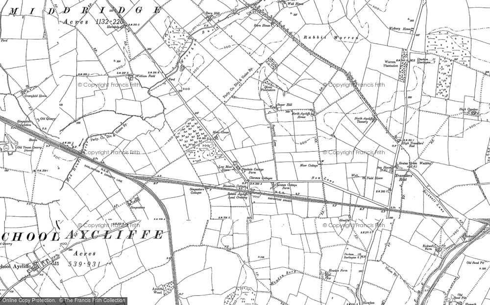 Old Maps of Newton Aycliffe Francis Frith