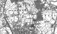 Old Map of Newton Hill, 1890 - 1892