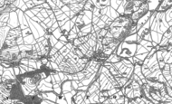 Old Map of Newton in Bowland, 1907