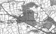 Old Map of Newton Kyme, 1891