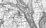 Old Map of Newton-on-Rawcliffe, 1891