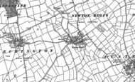 Old Map of Newton Regis, 1900 - 1901