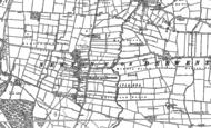 Old Map of Newton upon Derwent, 1890 - 1891