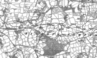 Old Map of Newtown, 1886 - 1887