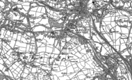 Old Map of Newtown, 1896 - 1897