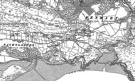 Old Map of Nicholaston, 1896
