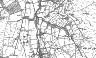 Old Map of Ninebanks, 1895