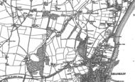 Old Map of Ninham, 1907