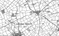 Old Map of No Man's Heath, 1882 - 1901