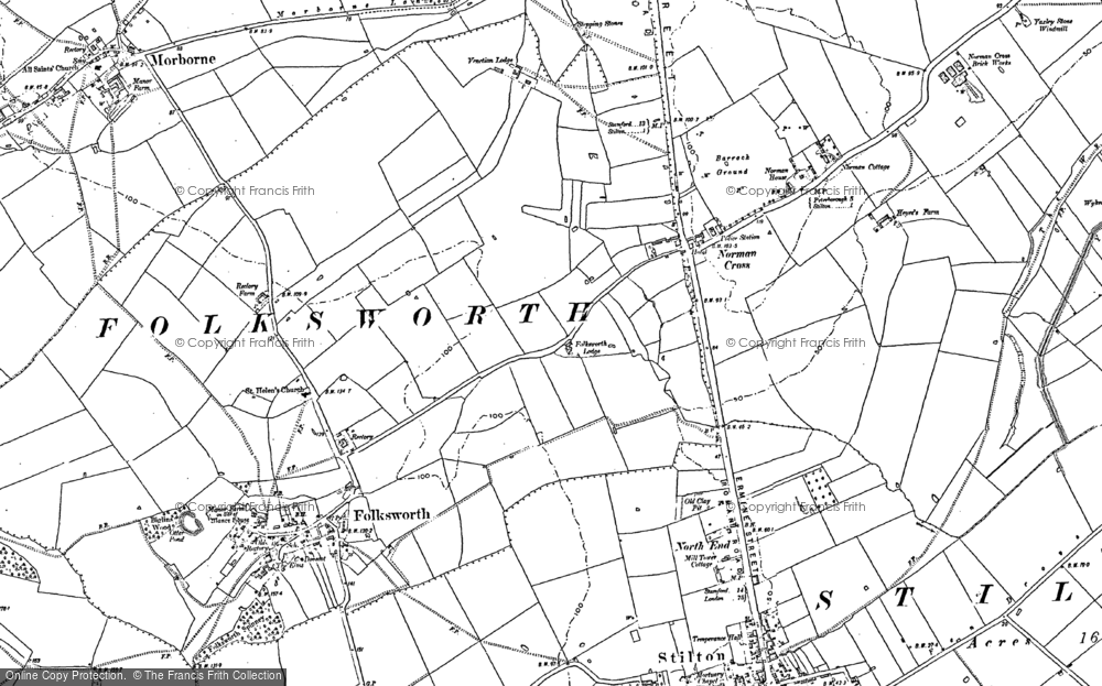 Old Maps of Norman Cross Francis Frith
