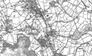 Old Map of Norman Hill, 1882