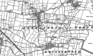 Old Map of Normanton on Trent, 1884