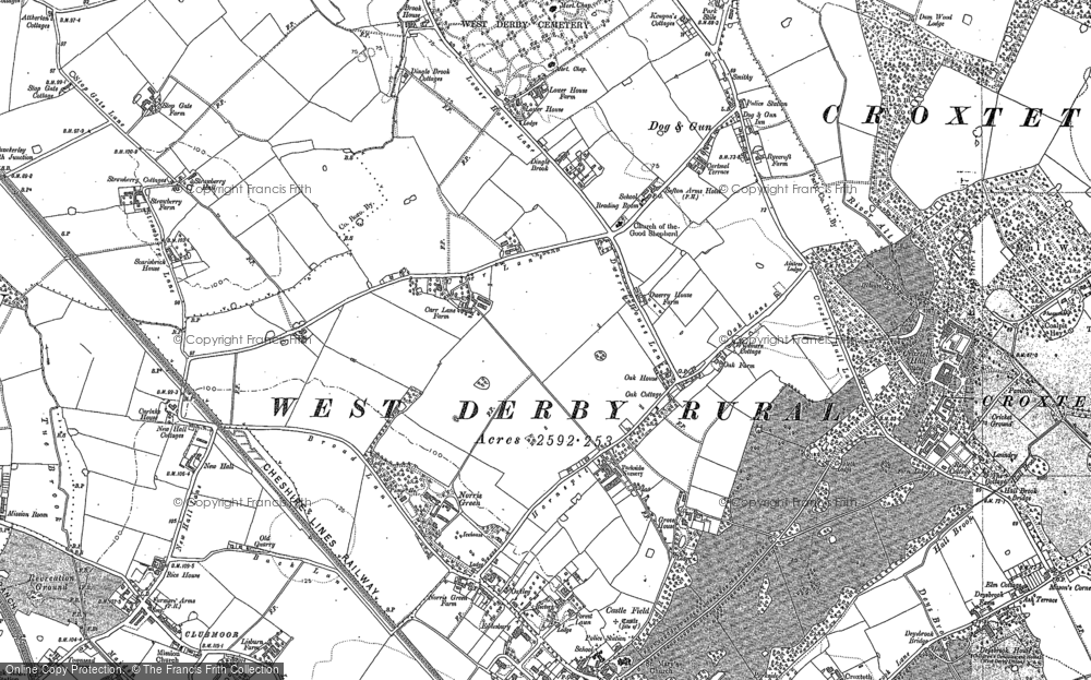 Old Maps of Norris Green Francis Frith