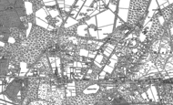 Old Map of North Ascot, 1898