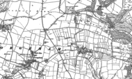 Old Map of North Buckland, 1903