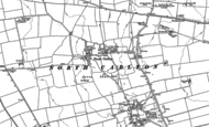 Old Map of North Carlton, 1885 - 1886