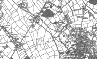 Old Map of North Cheam, 1894 - 1895