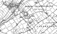 Old Map of North Cockerington, 1888