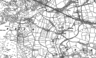 Old Map of North Cornelly, 1897 - 1914