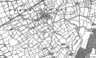Old Map of North Cowton, 1891 - 1892