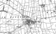 Old Map of North Dalton, 1890 - 1891