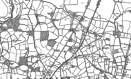 Old Map of North Heath, 1895 - 1896