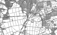 Old Map of North Ripley, 1896 - 1907