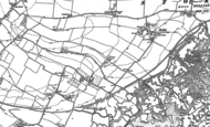 Old Map of North Street, 1896