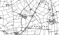 Old Map of North Togston, 1896