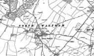 Old Map of North Waltham, 1894