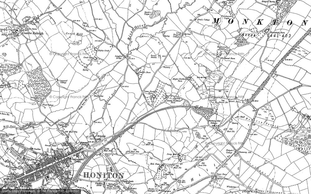 Old Map of Northcote, 1887 - 1888 in 1887