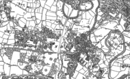 Old Map of Northenden, 1897 - 1908