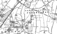 Old Map of Northfleet Green, 1895