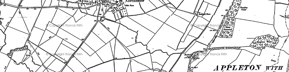 Old map of Linch Hill in 1898