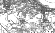 Old Map of Northumberland Heath, 1895 - 1907
