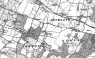 Old Map of Norton Ash, 1896